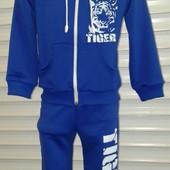 Детские спортивные костюмы Тигр двунитка 2-10 лет