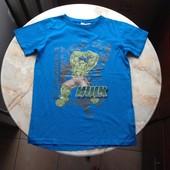 Футболка на мальчика фирмы Marvel размер 146/152 Hulk Халк