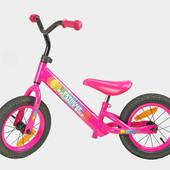 Беговел Экстрим 12 дюймов Extreme велобег надувные колеса баланс
