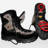 Ботинки Everest, Швеция, кожа, мембрана, оригинал, 42 р