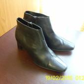 Шкіряні черевички. 36 р.janet D