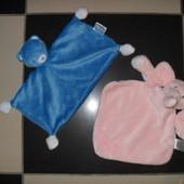 Платочки плюшевые для малыша