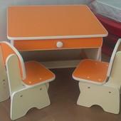 Столик и стульчики для близнецов. Николаев.