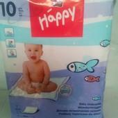 Одноразовые пеленки Bella Baby Happy пеленки Хеппи 60х60 10 шт