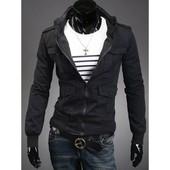 Куртка мужская на кнопках,S, М, L.XL (2с