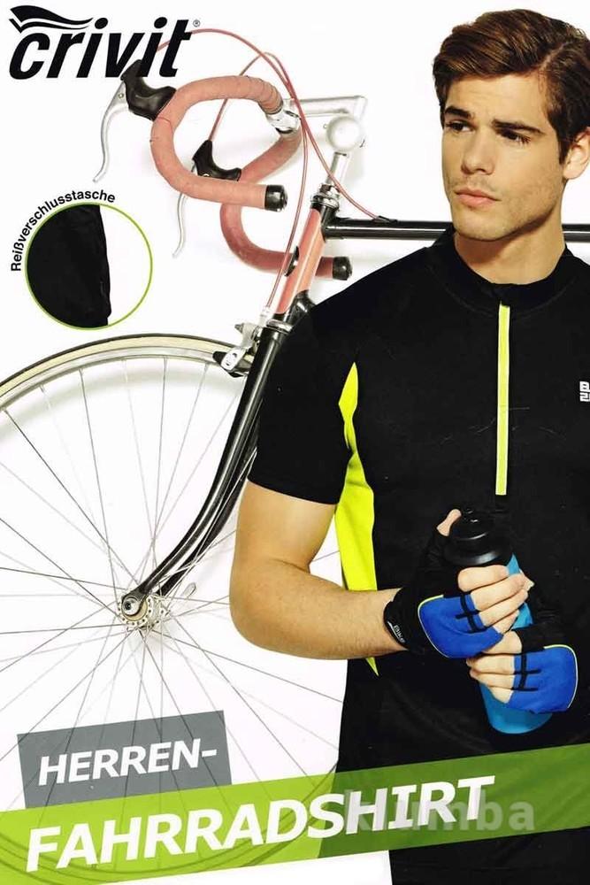 Вело футболка велоджерси Crivit Германия р.M фото №1