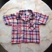 Рубашка на мальчика на возраст до 2 лет