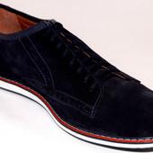 мужские туфли натуральный замш цвета Код: 265 color
