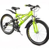Азимут Венус 24 дюйма 110- G Azimut Venus G горный велосипед двухподвес