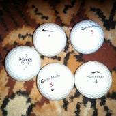 Шарики мячики для игры в гольф