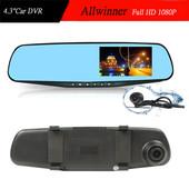 DVR 101 / t1 full hd Зеркало заднего вида с видео регистратором