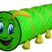 Туннель - Гусеница (зеленая) Bino 82805