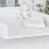 Комод с пеленальным столиком «Nova», Indigo Wood 31596 ,белый с пепельным