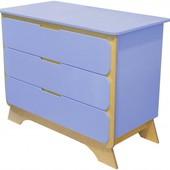 Комод с пеленальным столиком «Nova», Indigo 32894 цвет: индиго