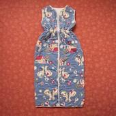 Спальный мешок на 6-24 месяца, б/у. На теплую весну или лето. Длина регулируется кнопками 68 - 98 см