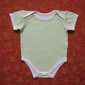 Бодик Early days на 3-6 месяцев, б/у. Хорошее состояние, без пятен. Длина от плеча застегнутого 35 с