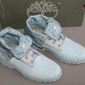 Стильные ботинки фирма Timberland (Тимберлэнд), европейский размер38, 5-39 стелька-25, 6