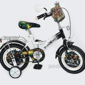 Доставка! Гарантия! велосипед от 3 лет, Profi тrike, колеса 12 дюймов, пираты (P1236P)