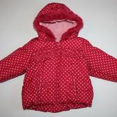 Mothercare теплая курточка 6-9 мес