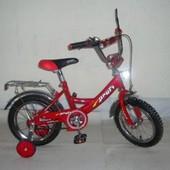 Доставка! Гарантия! Велосипед от 3 лет, Profi Trike 1446а, колеса 14 дюймов, цвет красный