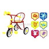 "Велосипед 3-х колес ""Малятко"", 6цветов,гвоздик. артикул 0202"