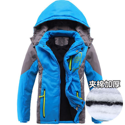 Куртка на флисе для мальчика р 115-150 см фото №1