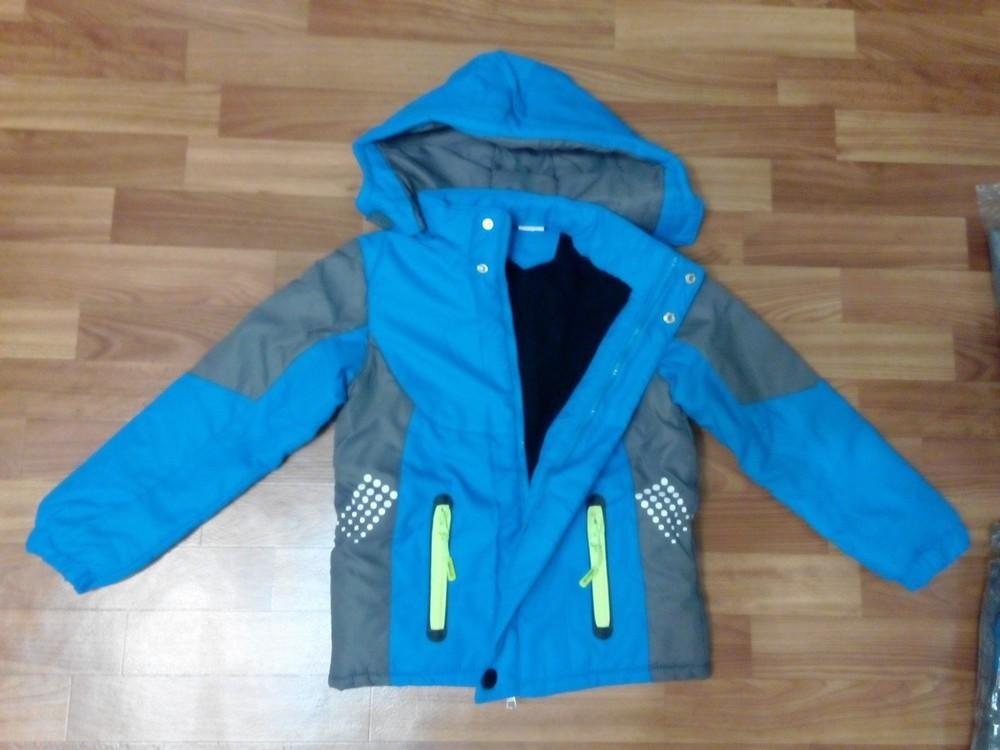 Куртка на флисе для мальчика р 115-150 см фото №2