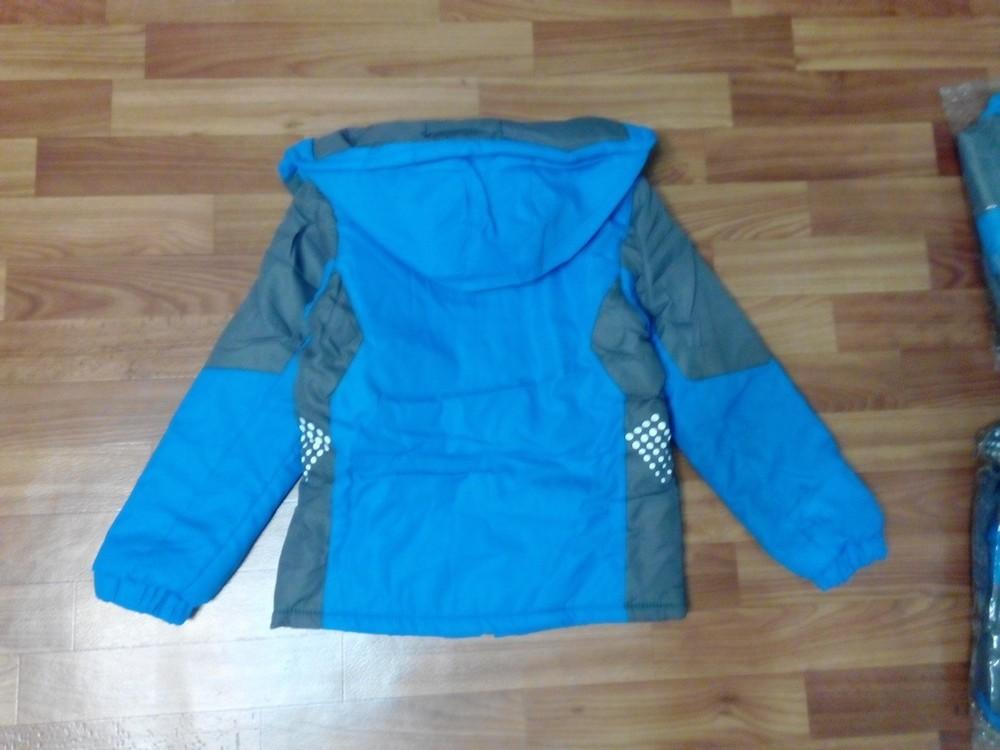 Куртка на флисе для мальчика р 115-150 см фото №3