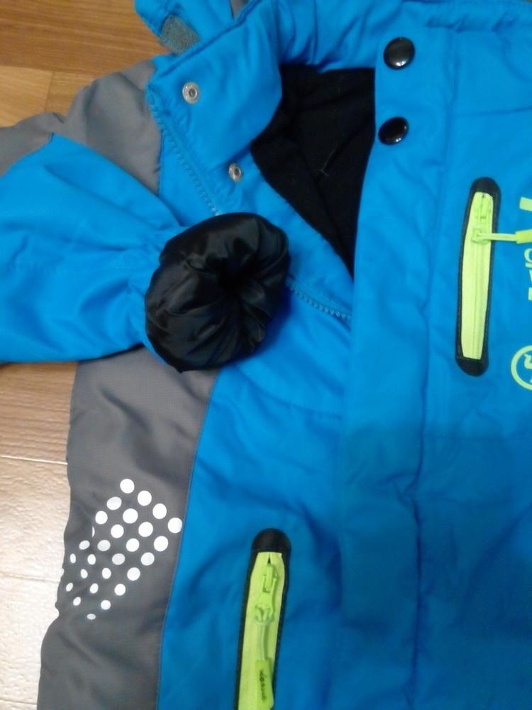 Куртка на флисе для мальчика р 115-150 см фото №4