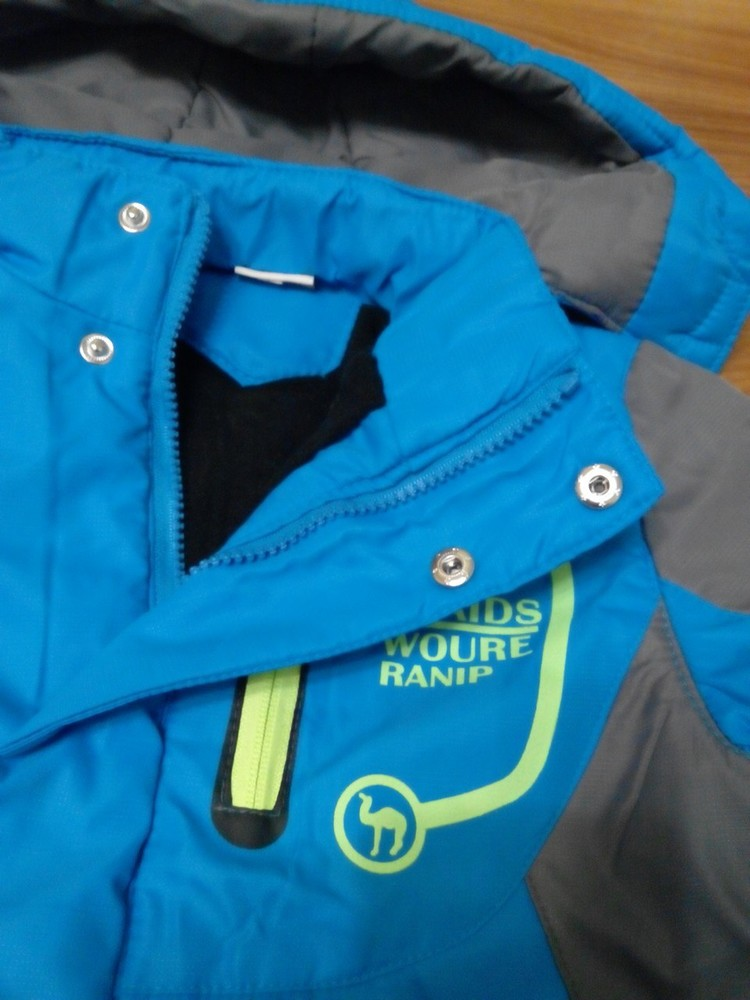 Куртка на флисе для мальчика р 115-150 см фото №5