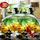 постельное белье поликаттон 3д качество отличное - цены от фабрики дешиво