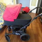 Универсальная коляска Emmaljunga 2 в 1, люлька + прогулка