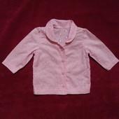 Рубашка George для девочки 3-6 мес., рост 62-68 см.