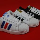 Мужские Adidas Superstar в 3-х вариантах