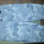 шорты капри в стиле милитари