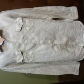 рубашка Zara для лета -лен.
