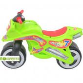 доставка! Каталка детская  Kinderway Мотоцикл (11-006), цвет Салатовый