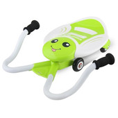 +Видео! Детская Каталка Ecoline Motor, цвет 3еленый