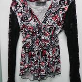 Новая стрейч блузка S, M