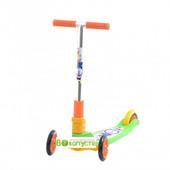 Детский самокат Explore Tredia Sport 3*125mm, цвет 3еленый