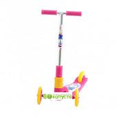 детский самокат Explore Tredia Sport 3*125mm, цвет Розовый