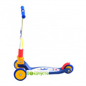 Детский самокат Explore Tredia Sport 3*125mm, цвет синий