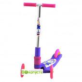 Детский самокат Explore Tredia Sport 3*125mm, цвет Фиолетовый