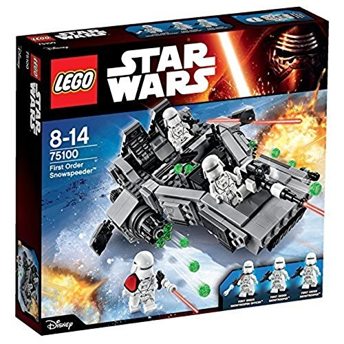 Lego star wars first order snowspeeder 75100 building kit снежный спидер первого ордена фото №1
