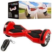 +видео! достака!SmartWay смартвей гироскутер Mini Segway ES-02-3 красный колеса - 8 дюймов