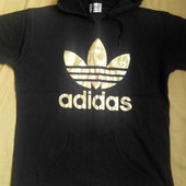 Трикотажная футболка кенгурушка Adidas р.46-48