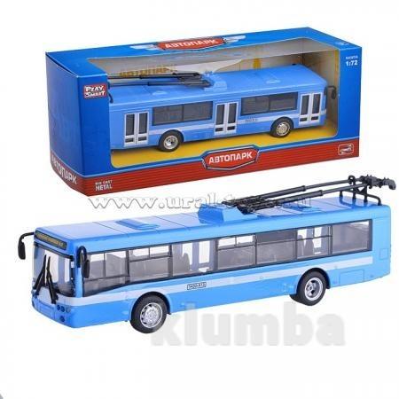 Троллейбус 6407b металлический фото №1