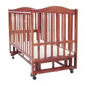 Детская кроватка Baby Care bc-407bc тёмный орех