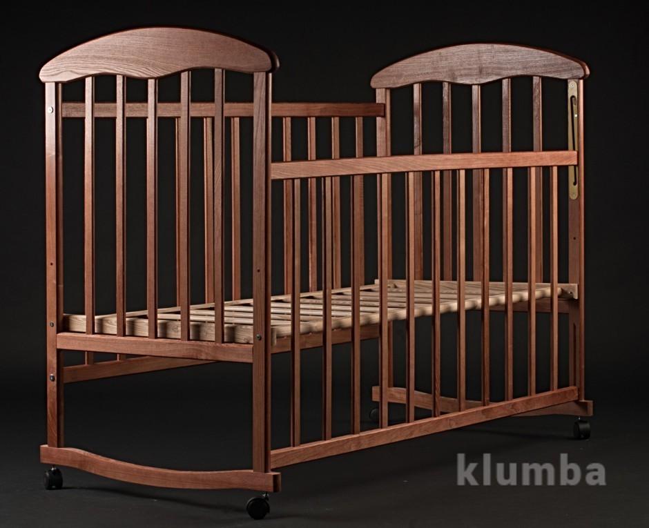 Детская кроватка Наталка ясень тик фото №1