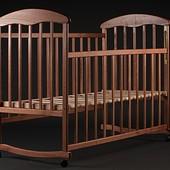 Детская кроватка Наталка ясень тик